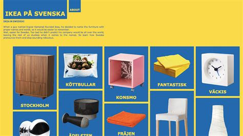 IKEA In Swedish Teaches You To Correctly Pronounce Its ...