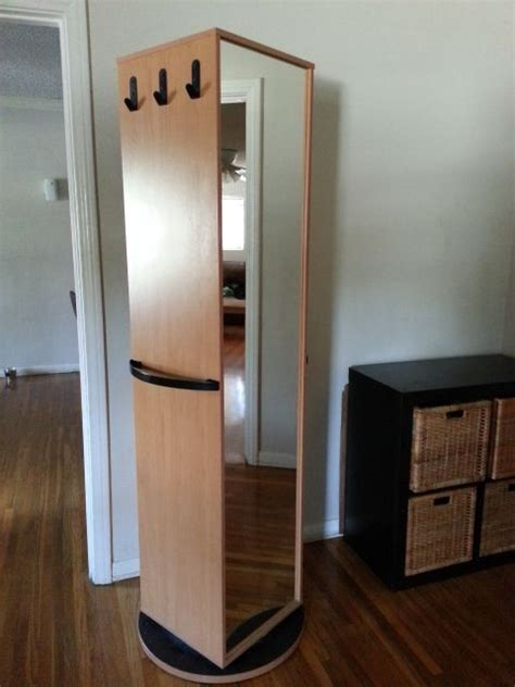 Ikea Kajak Rotating/Swivel Cabinet/Wardrobe  has mirror ...