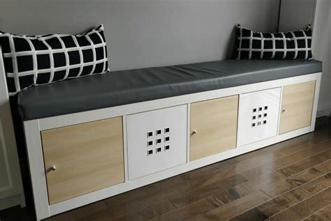IKEA Kallax Hack: Turn Bookshelf into a Seating Bench with ...