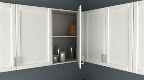 IKEA Kitchen Hack: A Blind Corner Wall Cabinet Perfect for ...