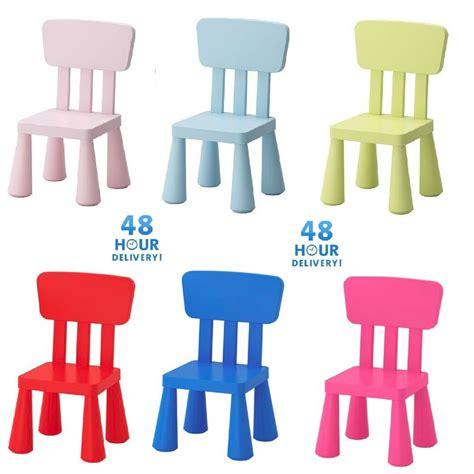 Ikea Mammut Kids Children s chair Plastic Toddlers ...