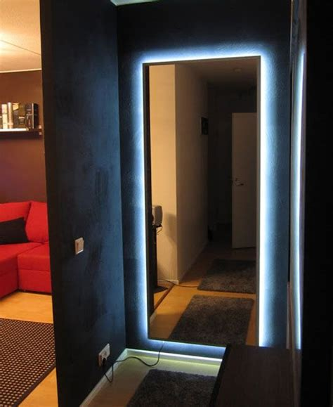 IKEA Mirror Transformed With Nightclub Chic LED Lighting ...