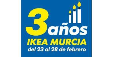Ikea Murcia cumple 3 años y lo celebra con ofertas