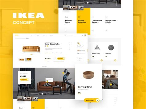 IKEA online experience redesigned – concept by Michal ...