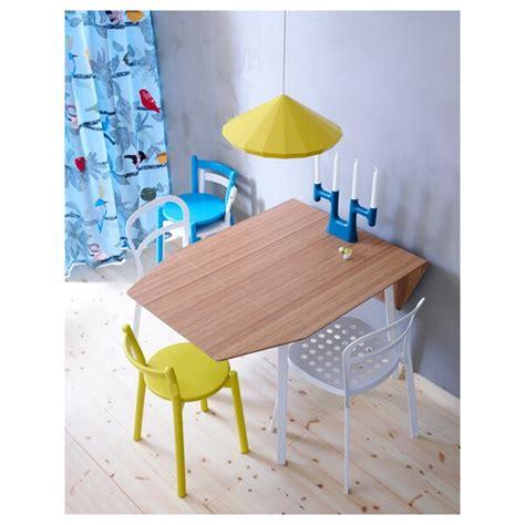 IKEA PS 2012 Mesa de hojas abatibles   bambú/blanco   IKEA