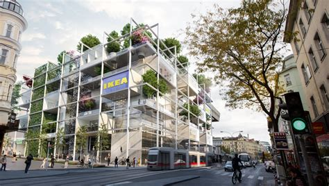 IKEA s concept for their new store in Vienna, Austria ...