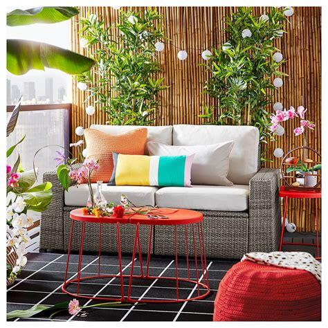 IKEA   SOLLERÖN 2 seat modular sofa, outdoor dark gray ...
