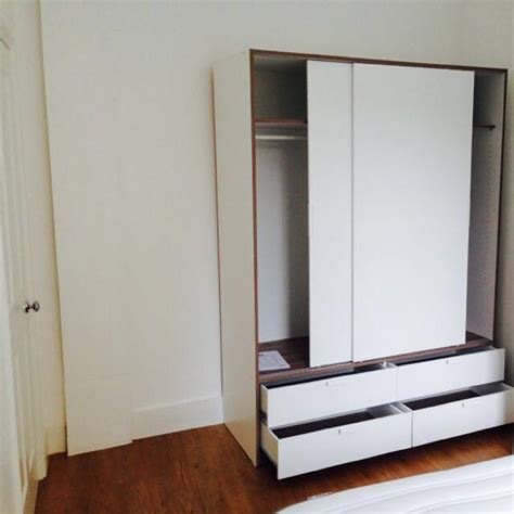 IKEA TRYSIL WARDROBE, Home & Furniture on Carousell