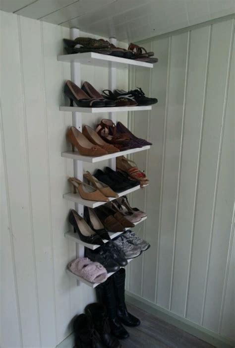 IKEA VARDE Wall Shelf White Shoe Rack Storage  includes ...