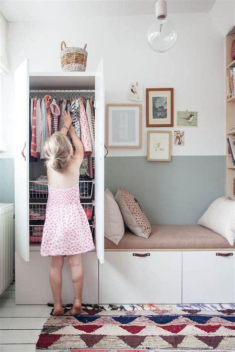 IKEA Wardrobe Hack In Charming Little Girl s Bedroom ...