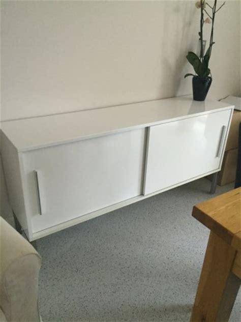 Ikea White High Gloss Sideboard For Sale in Swords, Dublin ...