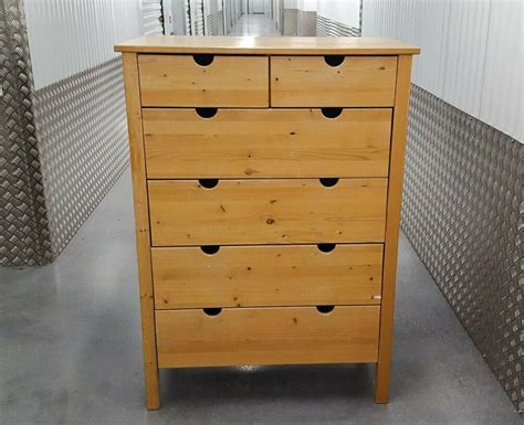 IKEA Wood Chest of 6 Drawers | in Orpington, London | Gumtree