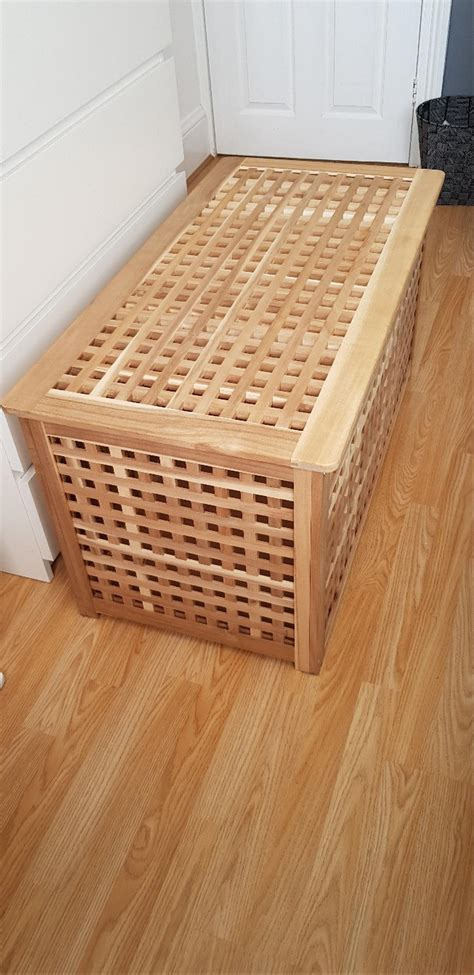 Ikea wooden storage box in Shoeburyness for £25.00 for ...
