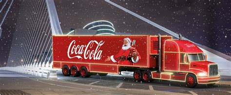 Il Coca Cola Christmas Truck attraverserà tra oggi e ...