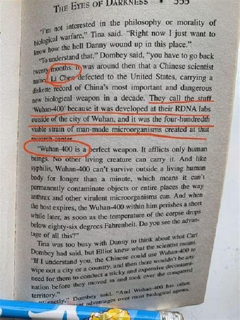 Il coronavirus cinese previsto nel romanzo americano del ...