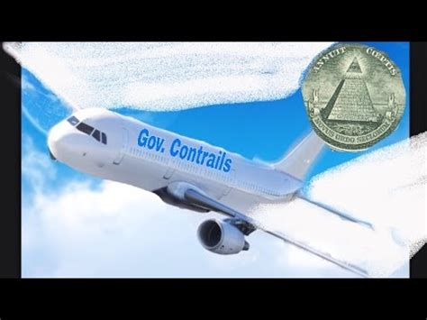 Illuminati secret Chemtrail VS Contrail   YouTube