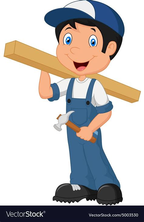 illustration of Carpenter cartoon. Download a Free Preview ...