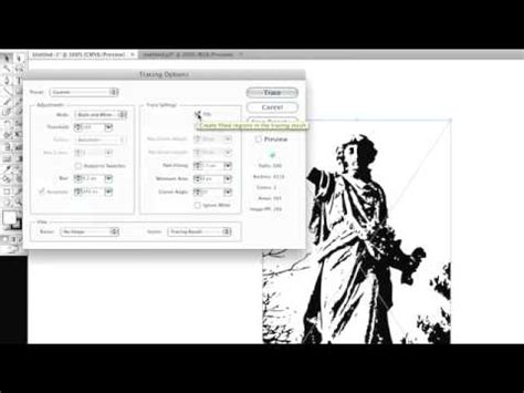 Illustrator Quicktips: Live Trace   YouTube