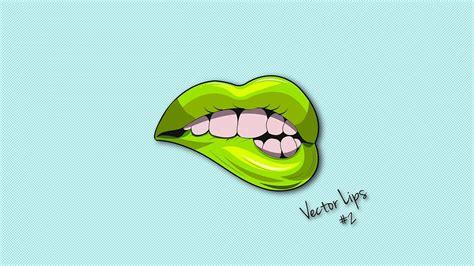 Illustrator Tutorial | Lips Logo Design Vector   YouTube