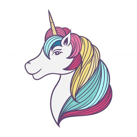 Ilustración de dibujos animados de unicornio | Vector Premium