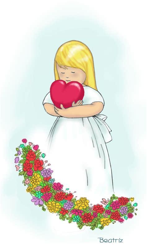 Ilustración   Dibujos de primera comunion, Comunion ...