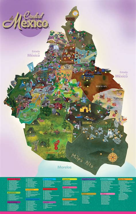 Ilustralala: Mapa Venustiano Carranza