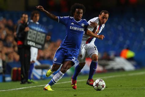 Image  Chelsea Star Willian Celebrates His Twin Daughters ...