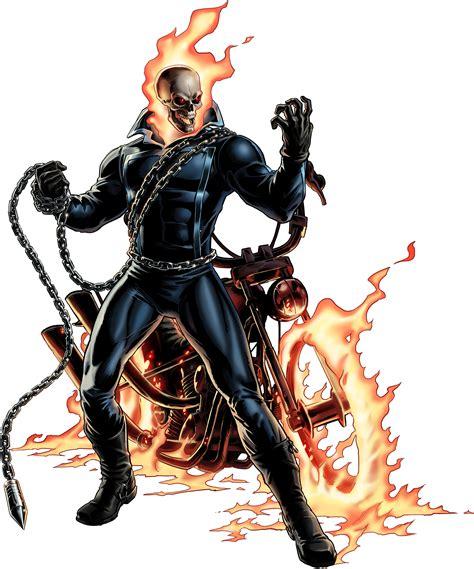 Image   Ghost Rider Portrait Art.png   Marvel: Avengers ...
