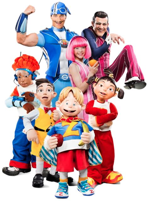 Image   Nick Jr. LazyTown Characters Cast Main.png ...