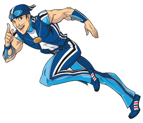 Image   Nick Jr. LazyTown Sportacus Illustrated 1.png ...