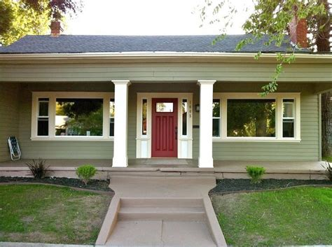 Image result for front door color for green house | House ...