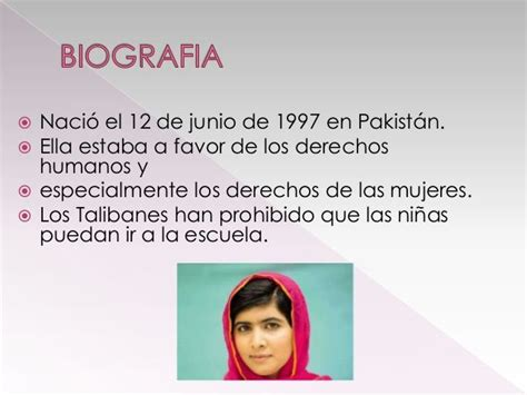 Image result for malala biografia en espanol  With images ...