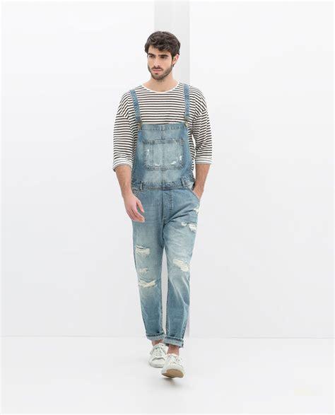 Imagen 1 de PETO ROTOS de Zara   Moda Hombres   Jeans ...