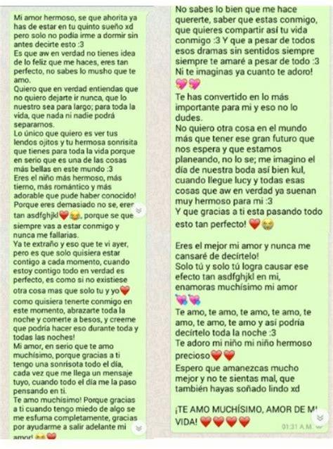 Imagen de amor, whatsapp, and chat  con imágenes  | Textos ...
