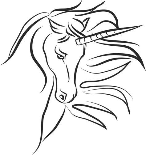 Imagen de Dibujo de unicornio para colorear   【FOTO GRATIS ...