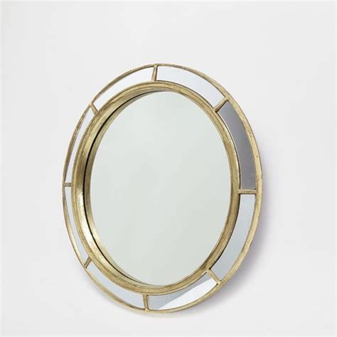 Imagen del producto Espejo redondo vidrio dorado | Decor ...