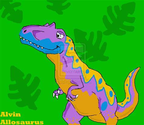 Imagen   Dinosaur train fanart alvin allosaurus by ...