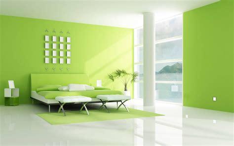 Imagen habitacion verde