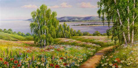 Imágenes Arte Pinturas: Horizontes Verdes Paisajes ...