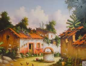 Imágenes Arte Pinturas: PAISAJES MEXICANOS PARA PINTAR