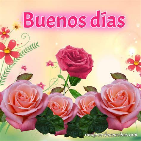 Imágenes Buenos Días con Flores   Imágenes de Buenos Días