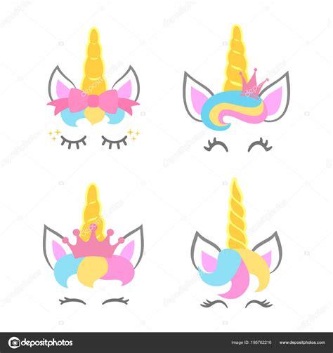 Imágenes: cabeza de unicornios | Lindo Unicornio Caras ...