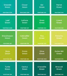 imágenes color verde   Buscar con Google   Nombres de ...