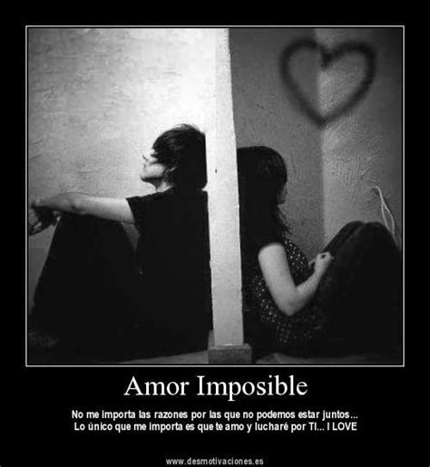 Imagenes Con Frases De Un Amor Imposible