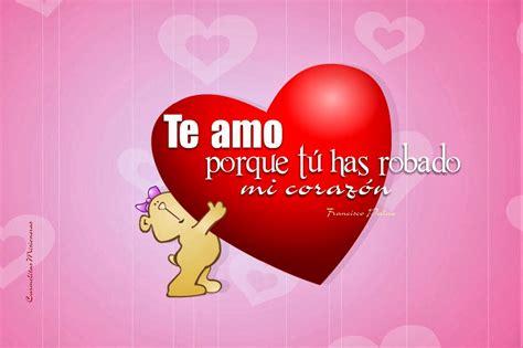 Imágenes de amor con frases eres el centro de mi corazón ...