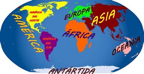 Imágenes de continentes del mundo | Imágenes