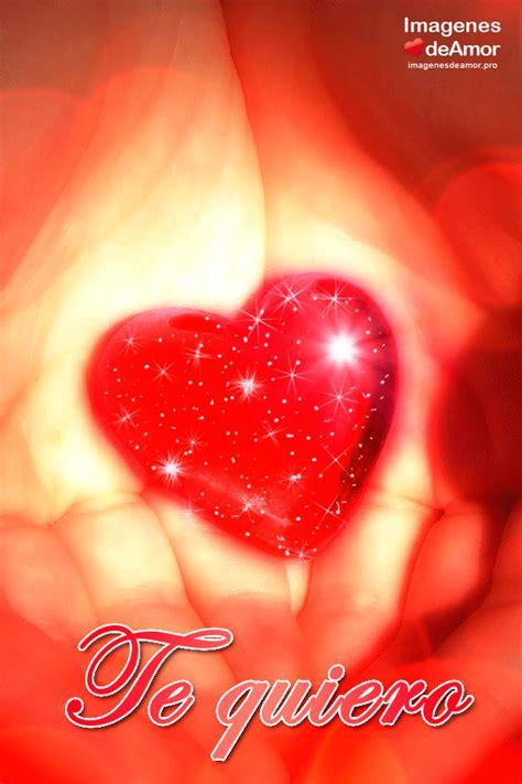 Imágenes de corazones rojos con frases para dedicar  con ...