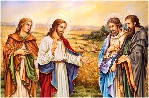 Imágenes de Jesús con los apóstoles