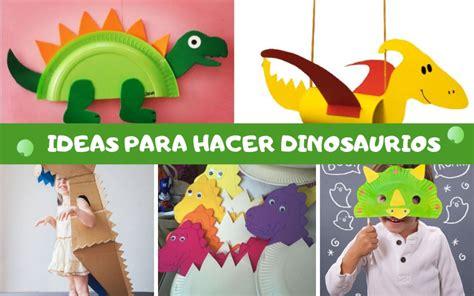 Imágenes de manualidades de dinosaurios | Imágenes bonitas ...