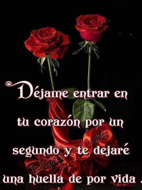 Imagenes de rosas de amor | Imagenes de enamorados, Frases ...
